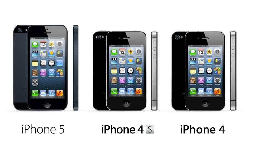 iPhone 4 iPhone 4S iPhone 5