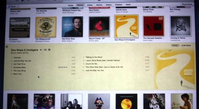 New iTunes desktop