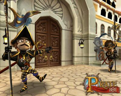 Aaargh! KingsIsle Entertainment's Pirate101 online game