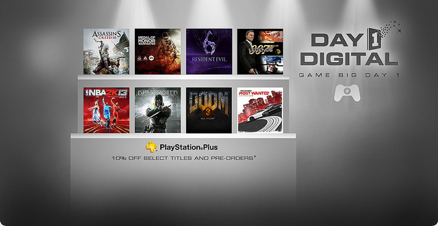 PSN Day 1 Digital