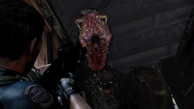 Resident Evil 6 snake battle