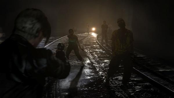 Resident Evil 6 train tracks