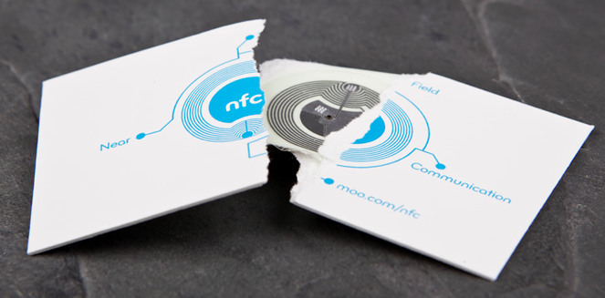 Moos nfc business cards combine an aging format with an unpopular business cards are objects increasingly out of place in our technology focused times but dont tell that to moo which is working on a way to keep business colourmoves