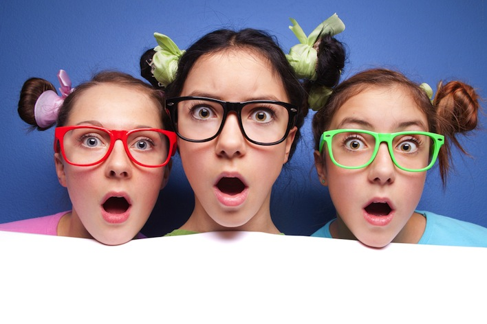 shocked teens