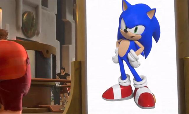 Wreck-It Ralph - Sonic