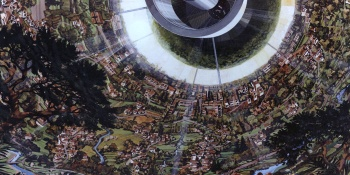 We love this incredible space colony art from the 1970s (gallery)