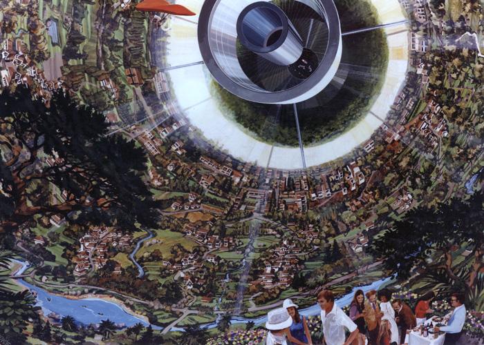 space-colony-art