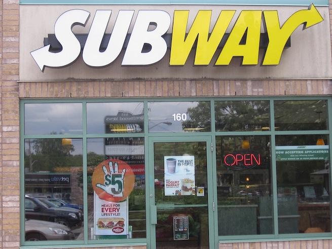 Subway Sandwich Restaurant