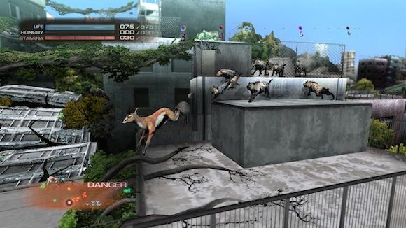Tokyo Jungle deer chase