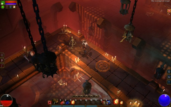 Torchlight II dungeon