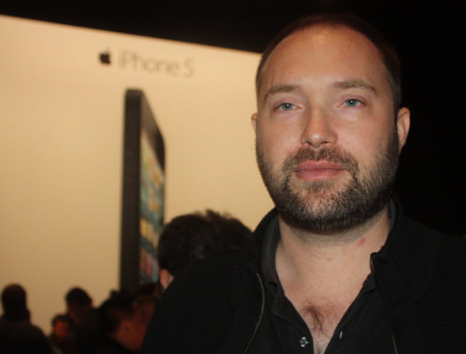 Torsten Reil at iPhone 5