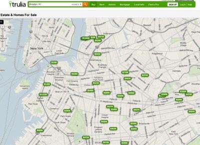 trulia real estate map