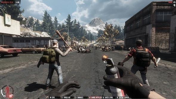 The War Z Colorado mountains