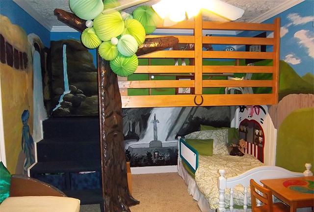 this legend of zelda-themed bedroom is the coolest bedroom   venturebeat