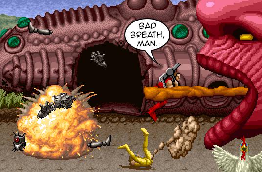 Bad breath, man
