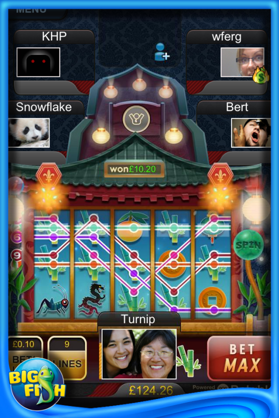 Big fish games launches first real money gambling game in for Fish table gambling