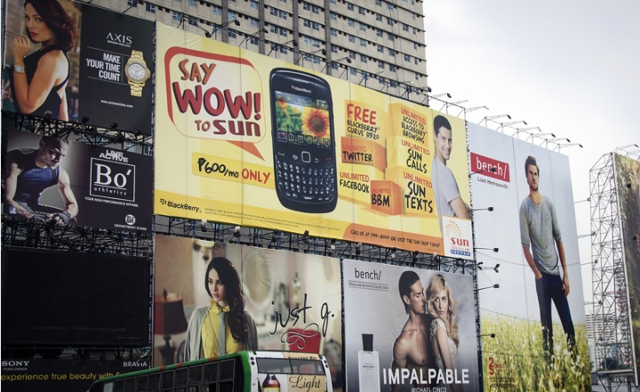 Facebook and Google can replace billboards with targeted mobile ads