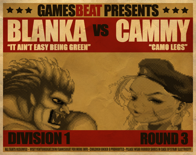 Blanka vs. Cammy