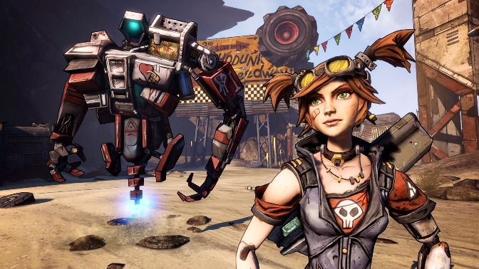 Borderlands 2 - Mechromancer and Deathtrap 2