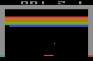 Breakout on the Atari 2600