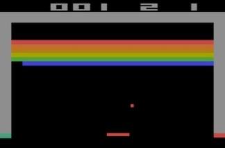 Breakout on the Atari 2600
