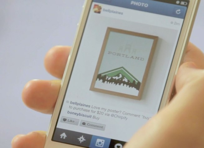 chirpify instagram sale