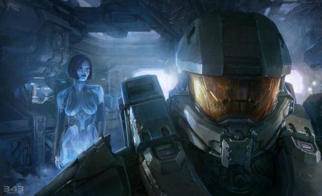 Chief and Cortana