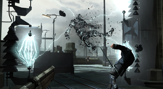 Dishonored Wall of Light