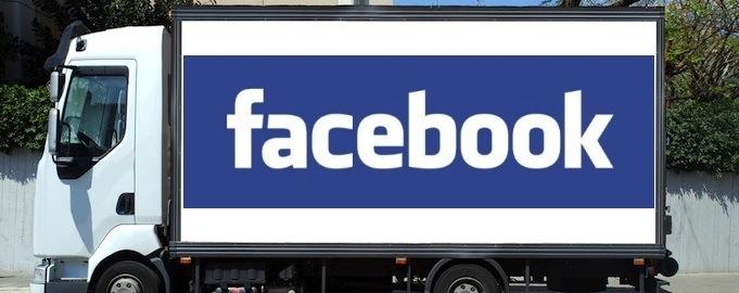 facebook ad truck