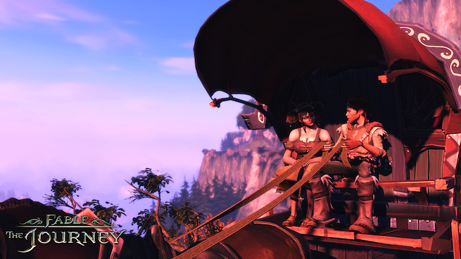 Fable: The Journey Betty In The Carriage