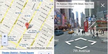 Google adds Street View to Maps web app on iOS