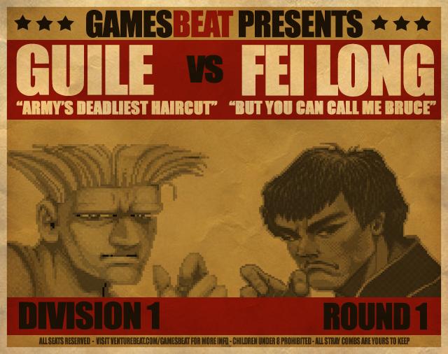 Guile vs. Fei Long