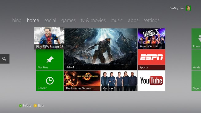 New update almost makes the Xbox 360 dashboard useful