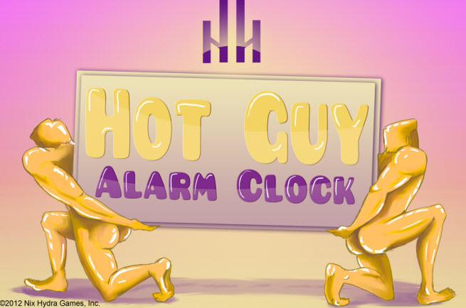 Hot Guy Alarm Clock