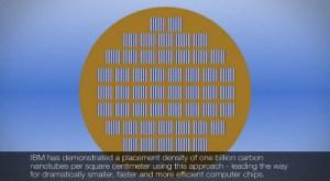 IBM carbon nanotube wafer