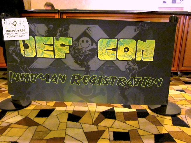 Def Con registration