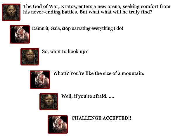 Kratos comments -- Gaia