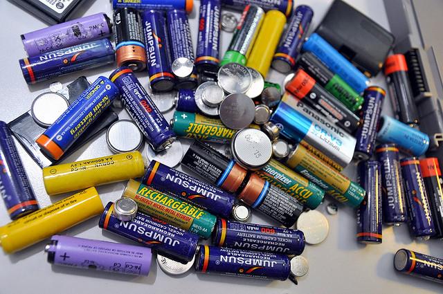 Lithium batteries. Lots of 'em.