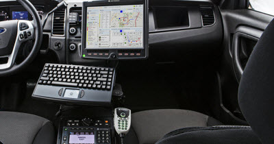 Motorola S Futuristic Police Car Is Loaded With Computers