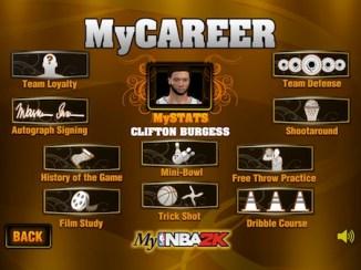 MyNBA2K My Career mode