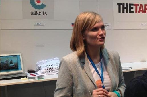 Talkbits founder Olga Steidl