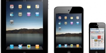 iPad Mini: 16 options from 8GB to 64GB, prices from $250 to $650