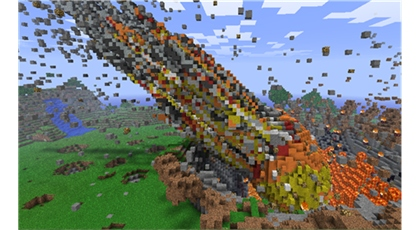 Natural Disasters Mod Minecraft Pe