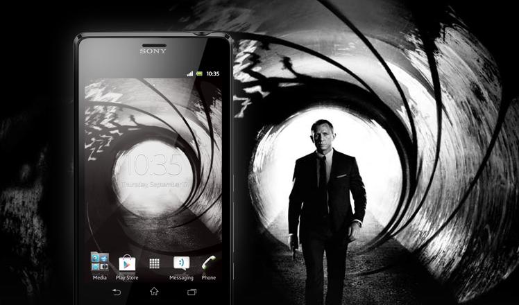 James bond 39 s new phone not an iphone 5 or samsung galaxy - James bond wallpaper iphone 5 ...