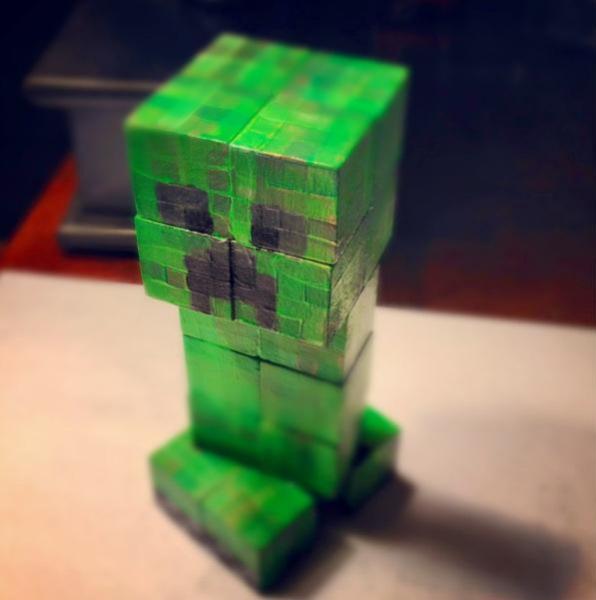 Minecraft Creeper by BraveDeity