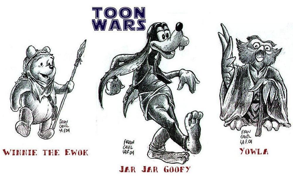 Lucasfilm Disney mashup