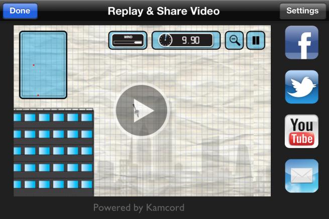 Kamcord in-app video recording