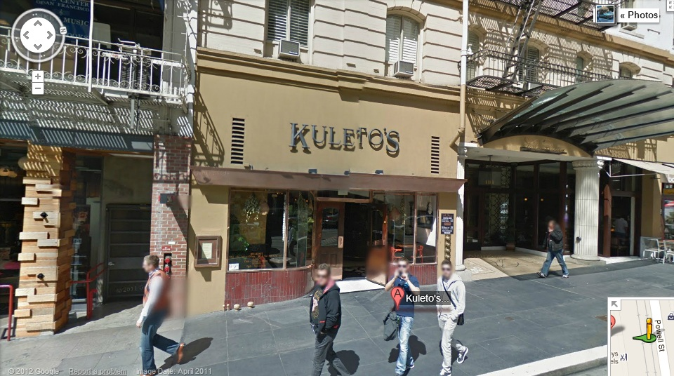 Google Street View of Kuleto's