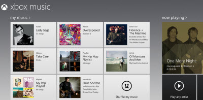 Xbox Music 4
