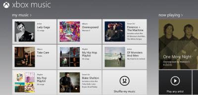 Xbox Music 5